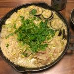 【レシピ】グリーンカレー鍋