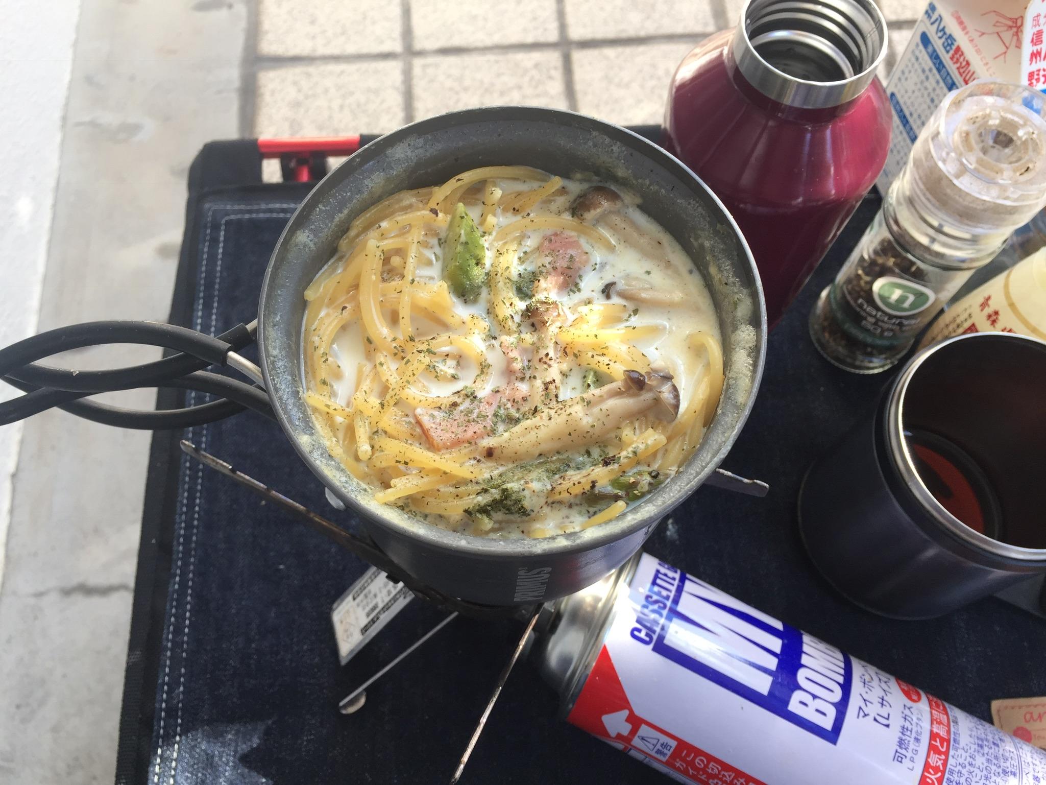 【再現レシピ】ゆるキャン△5話。コッヘル1つでできるスープパスタをキャンプ飯初めての人が作れるようにわかりやすくしたよ。