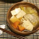 【再現レシピ】ゆるキャン△7話。さっぱり昆布つゆのタラ鍋。