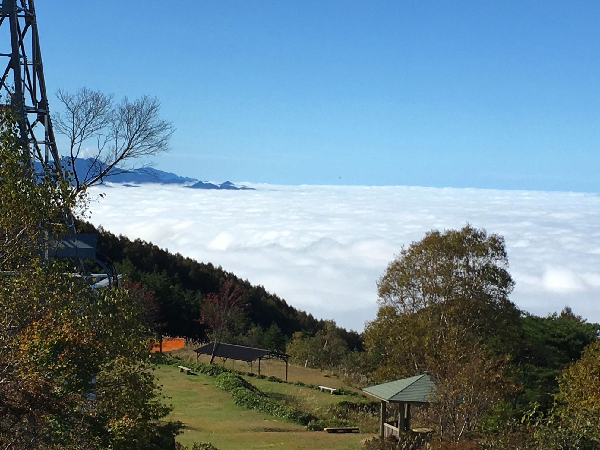 陣馬形山から見る海雲