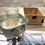 amazon段ボールで、超簡単!30秒で組み立てられる自作燻製キットの作り方。