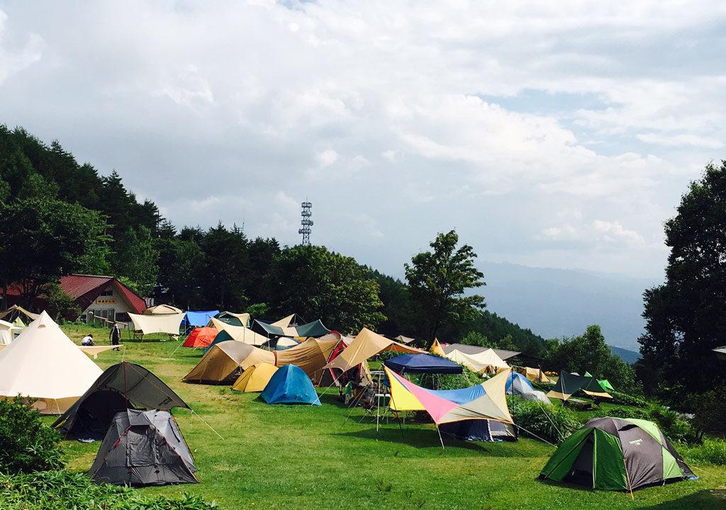 陣馬形山キャンプ場の写真