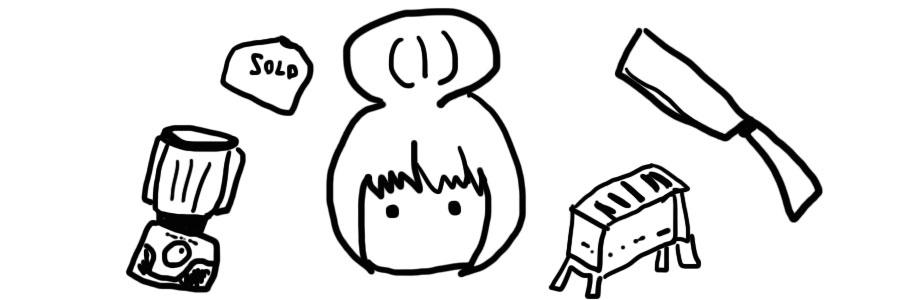 りんちゃんのキャンプ道具