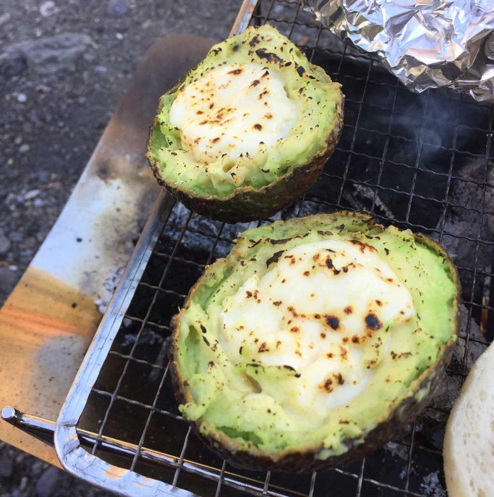 アボカドカマンベールチーズ焼き