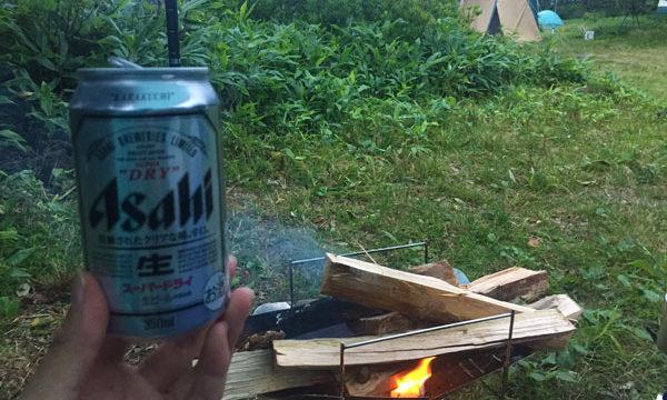 ソロキャンプ飯