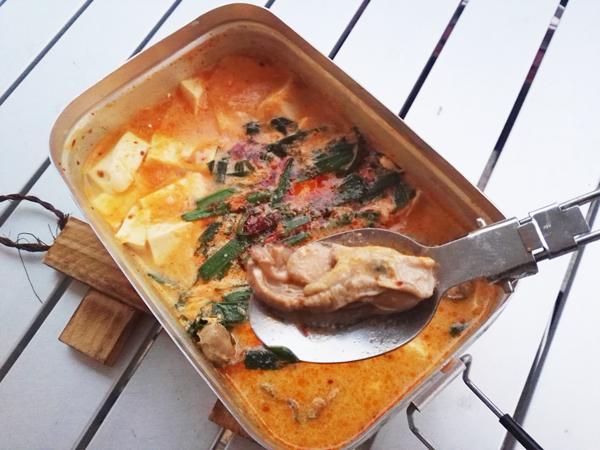 豆乳牡蠣鍋 ラー油風味