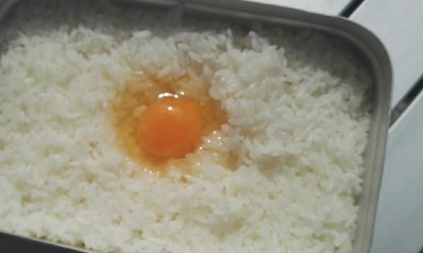 メスティン 米の炊きあがり