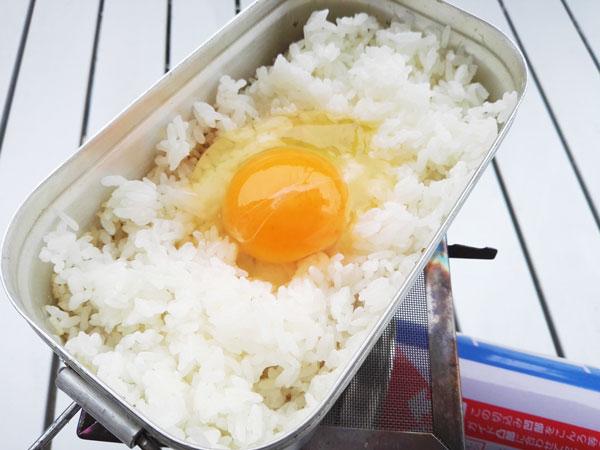 メスティンで米炊き