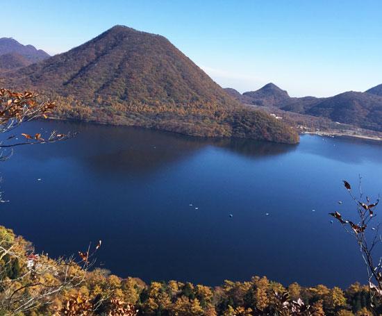 秋の榛名山