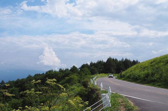 夏の霧ケ峰(長野)