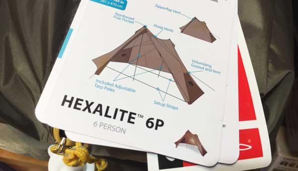 一番設営が簡単なテントを聞いたら「ニーモヘキサライト」をおすすめされた件