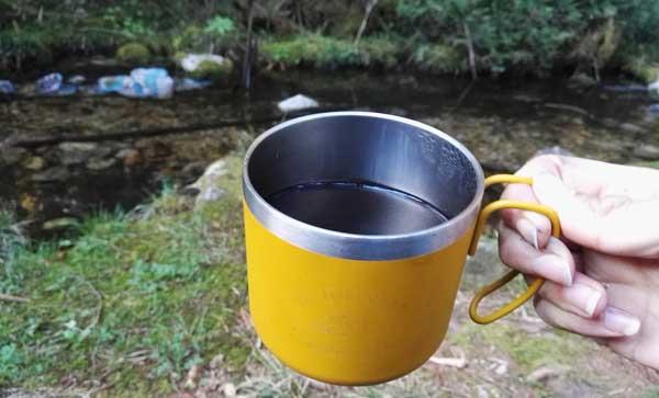 ビアレッティで淹れたアメリカンコーヒー