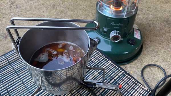 しょうがチューブで作るジンジャーチャイの作り方④紅茶を濃く煮だす