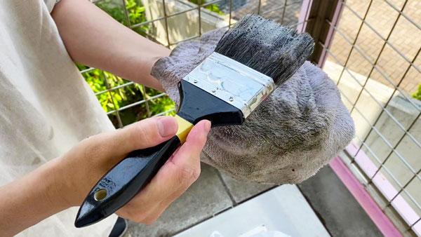 掃除用の刷毛